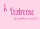 Mois de sensibilisation du cancer du sein